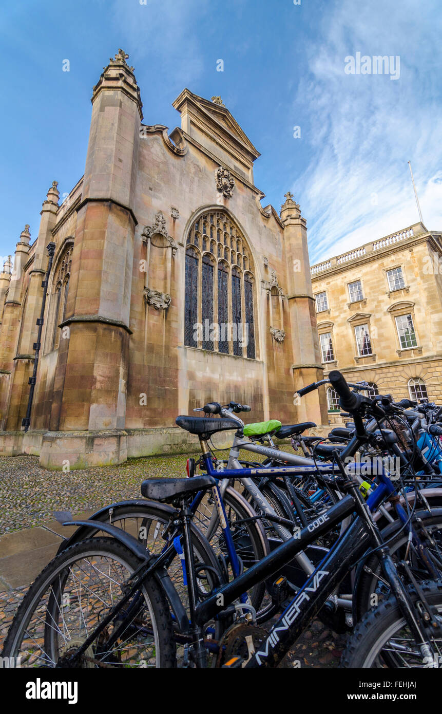 Peterhouse Chapel, Cambridge, UK - Stock Image
