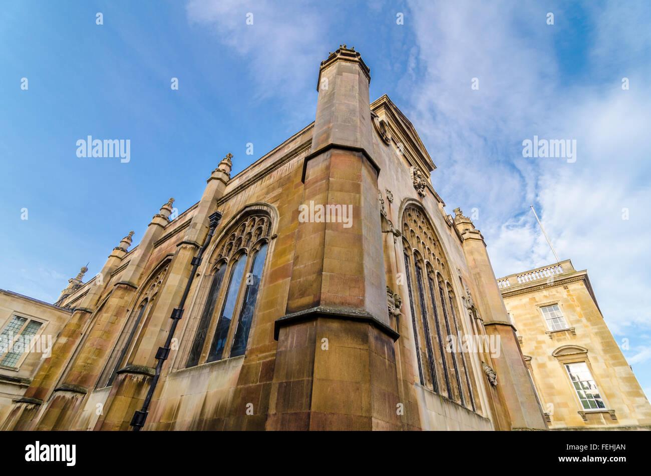 Peterhouse Chapel, Cambridge, UK - Stock Image