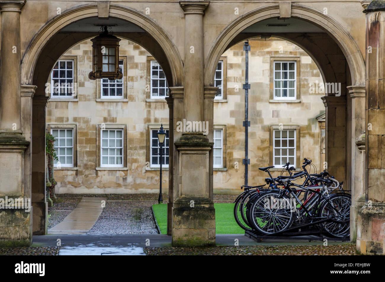 Peterhouse, Cambridge, UK - Stock Image