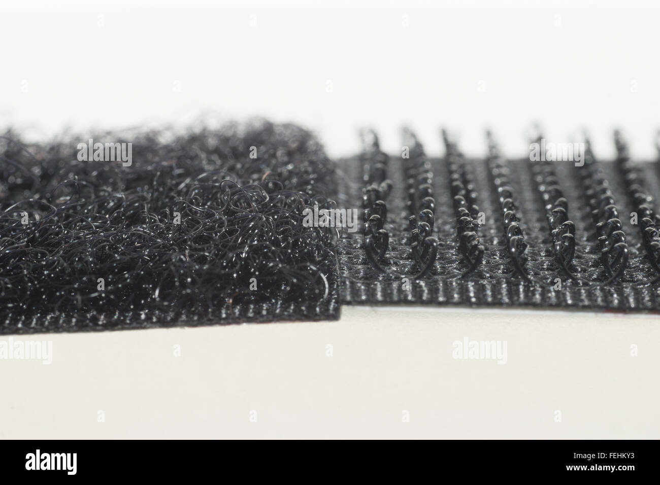Close up of Velcro, Hook and Loop Stock Photo