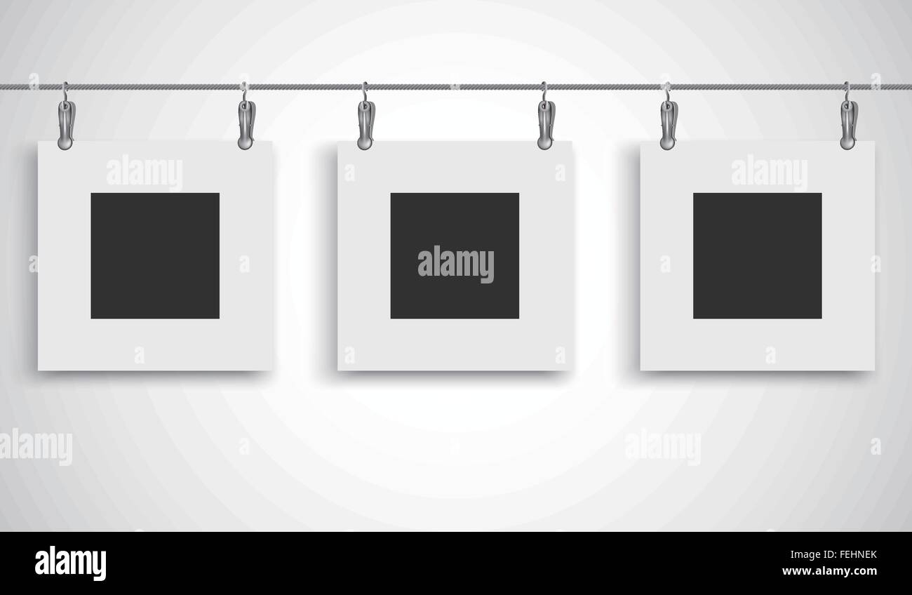 Painting Frame Stock Vector Images - Alamy