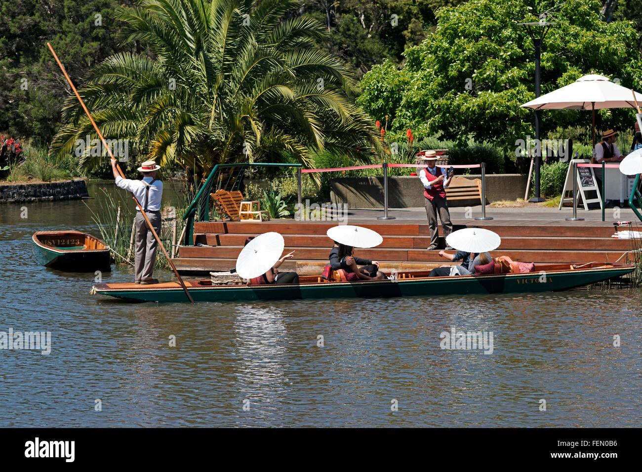 Punt Tour, The Royal Botanic Gardens, Melbourne, Australia
