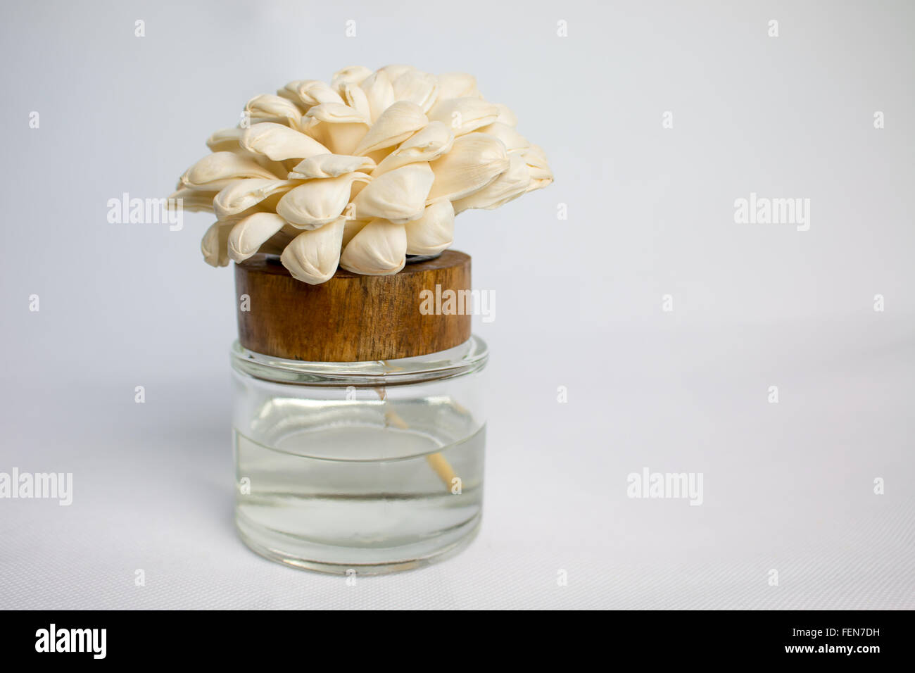 Small bottle of perfume with white flowers stock photo 95123885 alamy small bottle of perfume with white flowers mightylinksfo