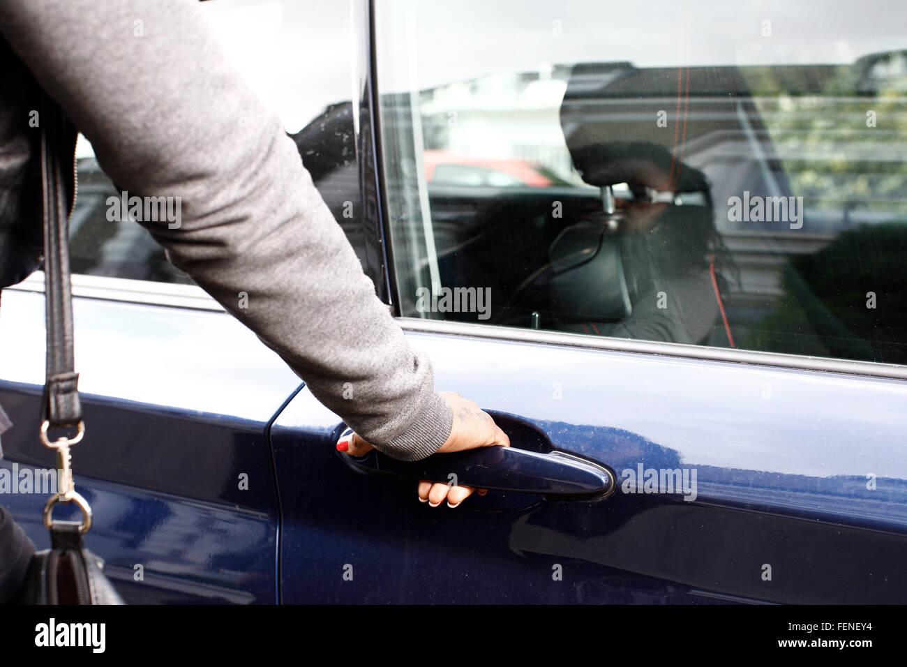 car door handle hand. Beautiful Car CloseUp Of Hand Holding Car Door Handle Throughout S