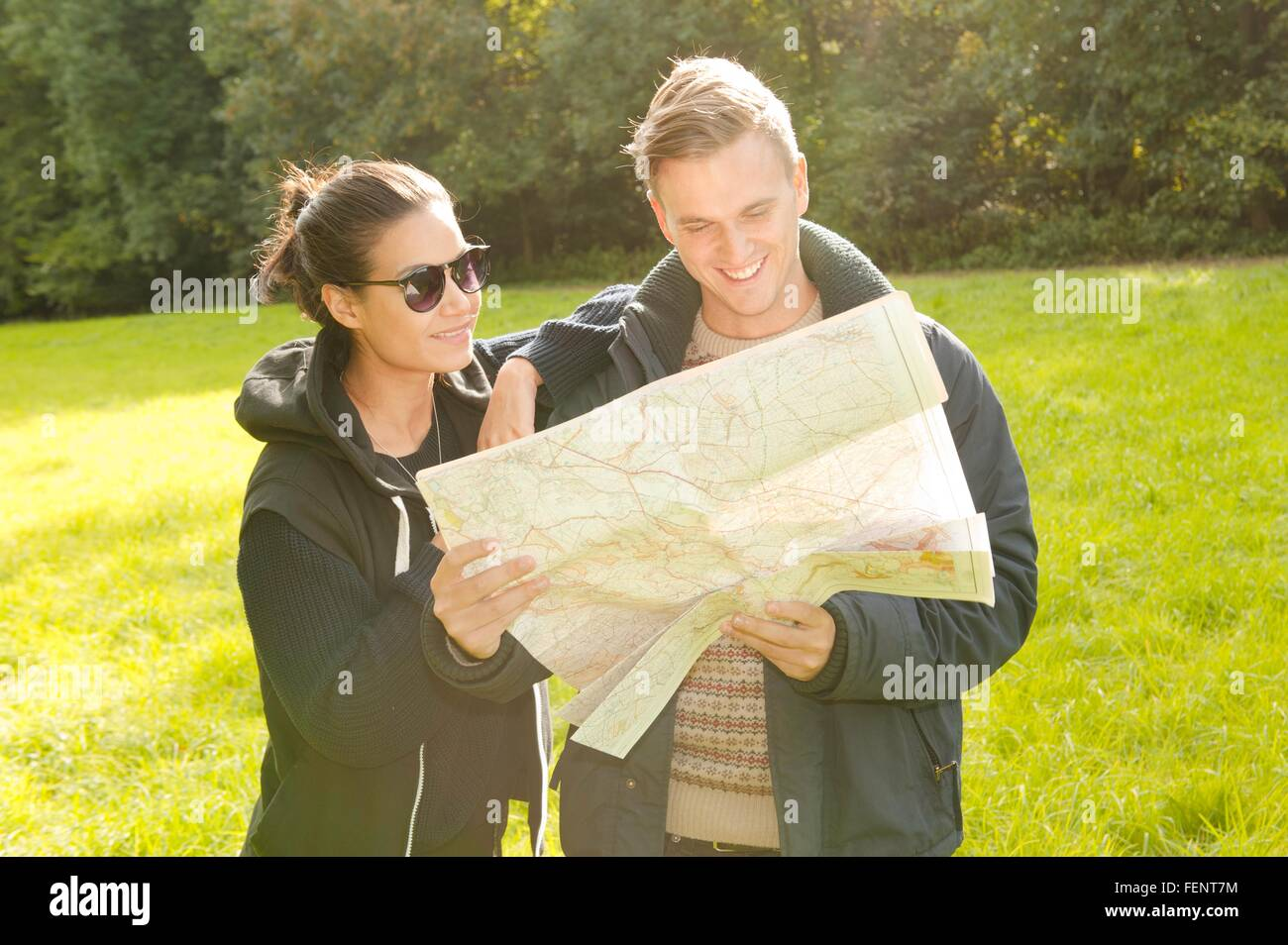 Map Reading Stock Photos Map Reading Stock Images Alamy