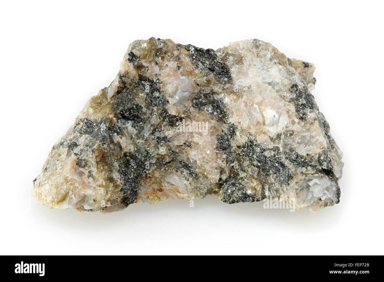 Granite, Igneous Plutonic Rock, Quebec, Canada - Stock Image