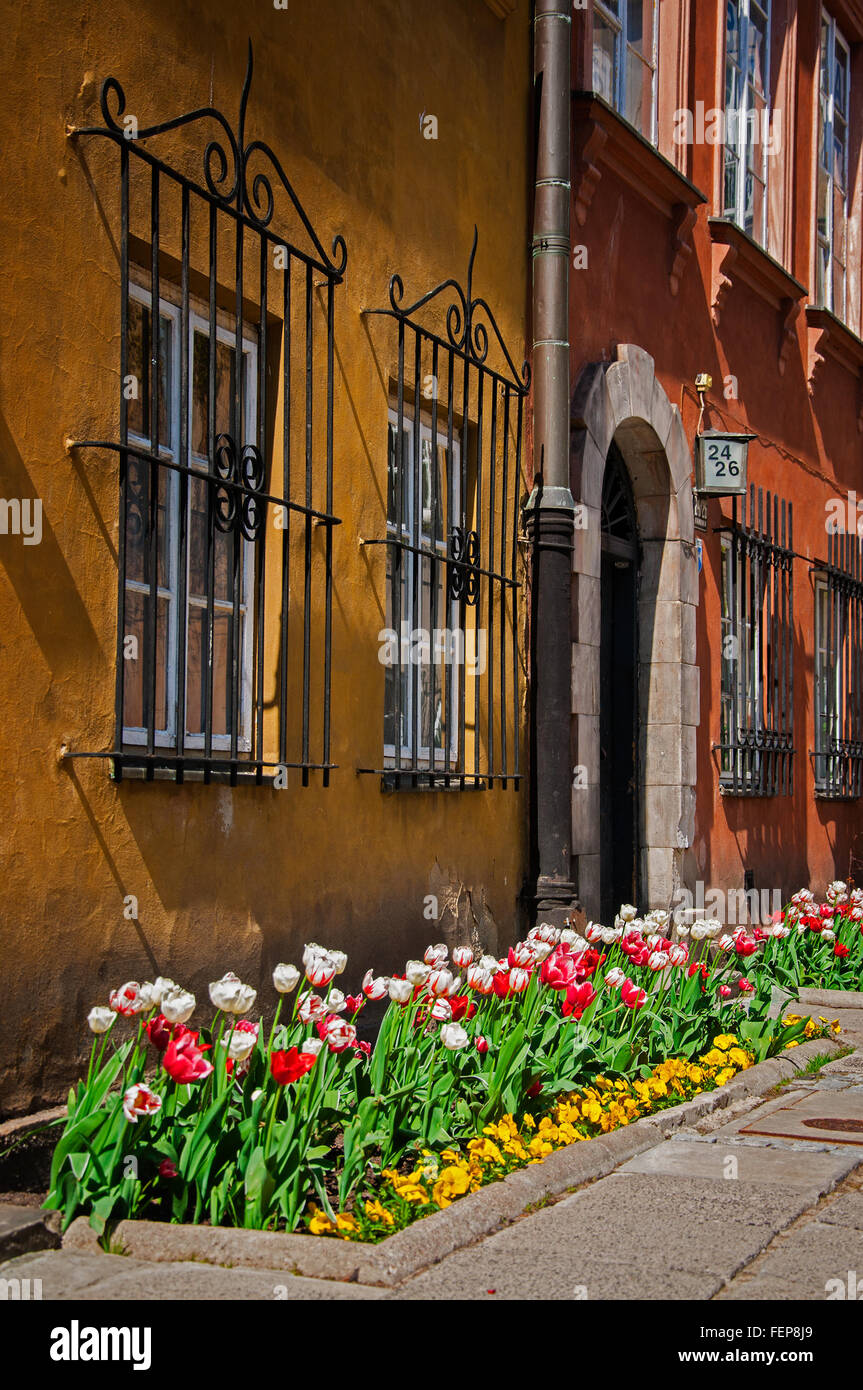 Warsaw - Stock Image