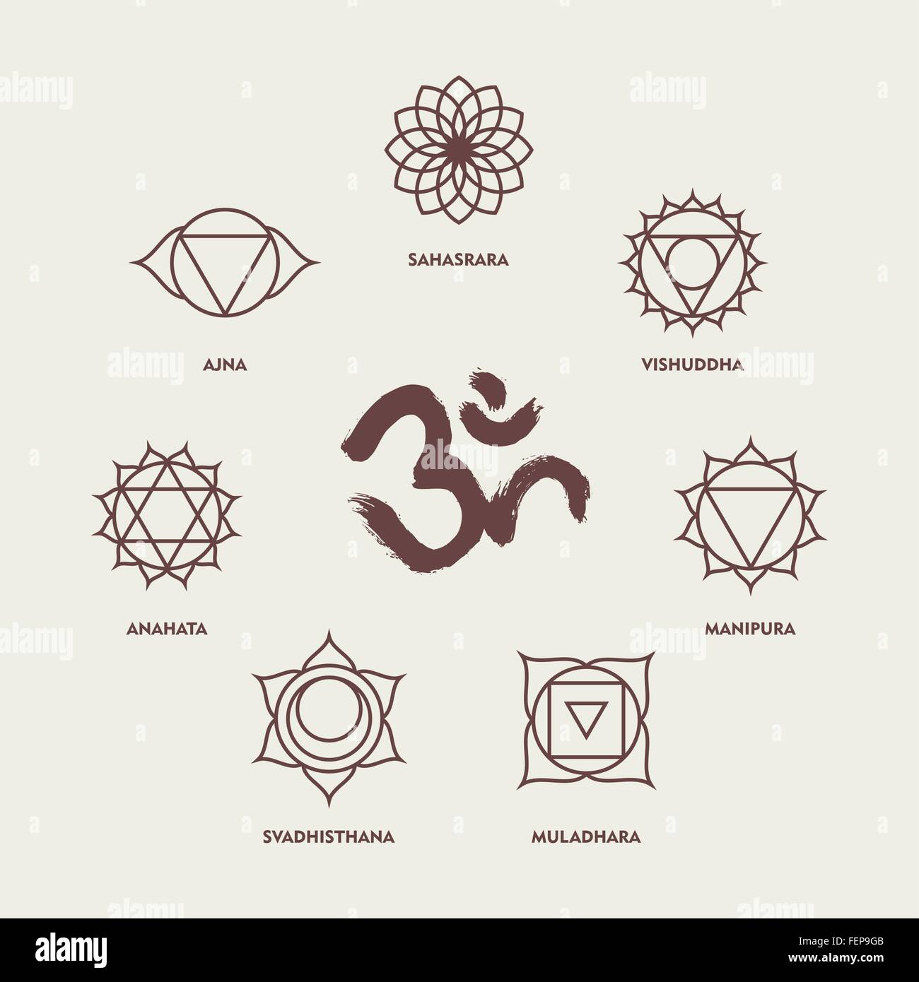 Yoga Symbols Stock Photos Yoga Symbols Stock Images Alamy