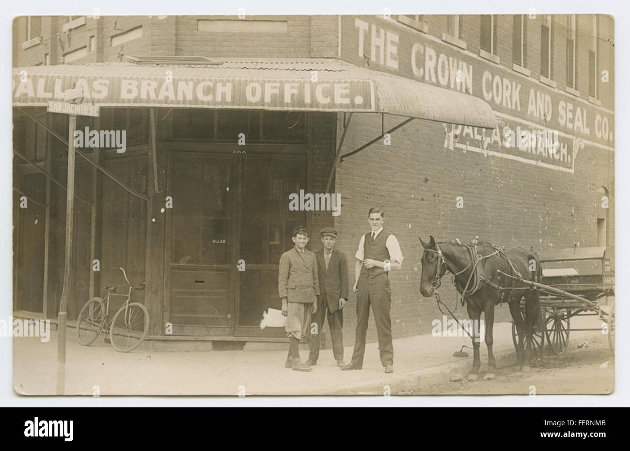 [The Crown Cork and Seal Co., Dallas Branch] [The Crown Cork and Seal Co, Dallas Branch] - Stock Image