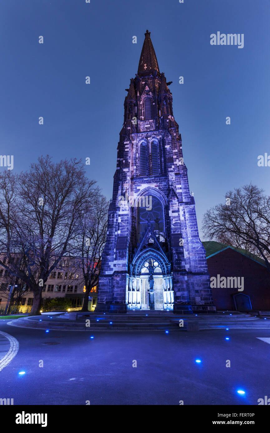 Christ Church in Bochum - Stock Image