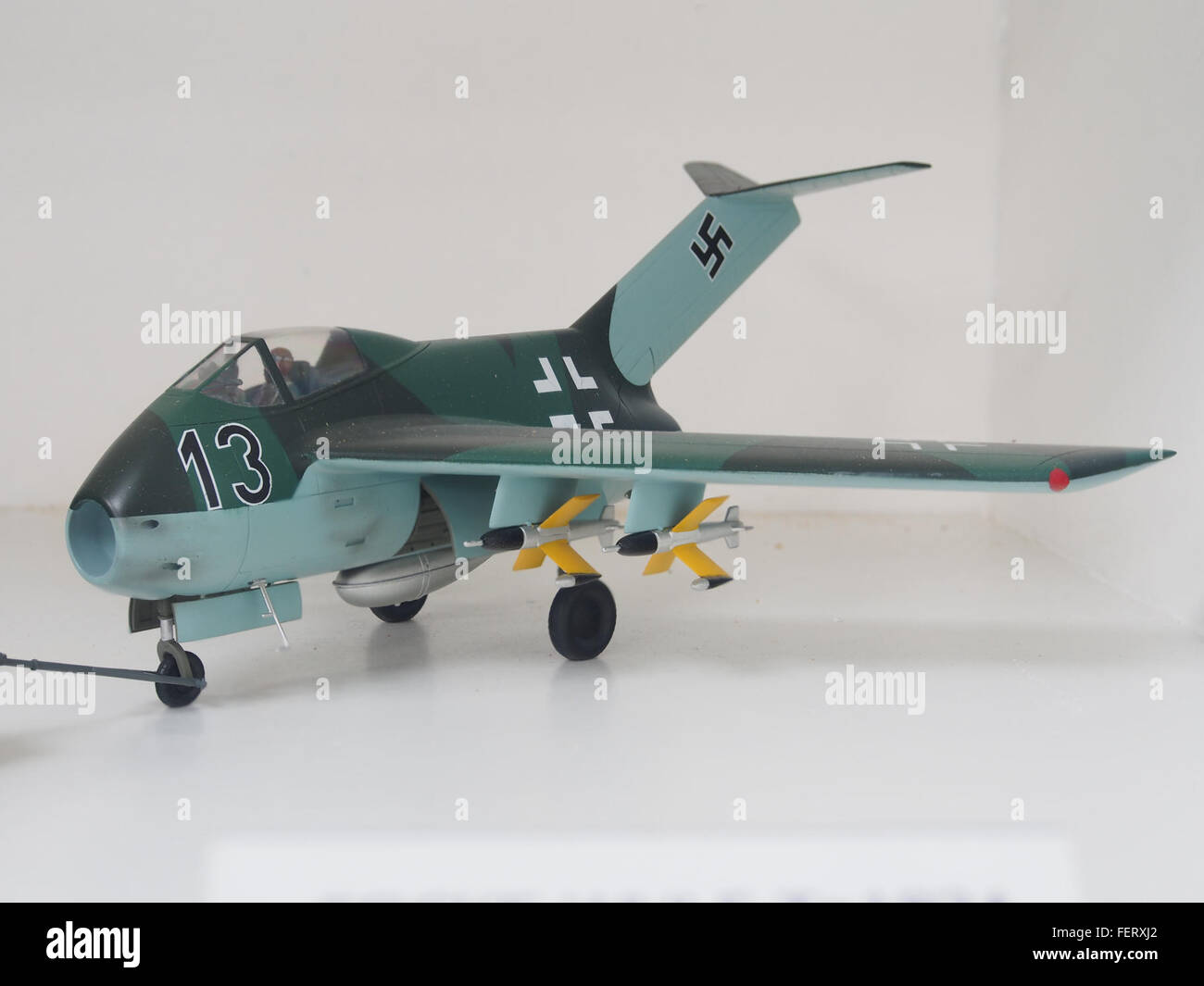 Focke Wulf Ta183A Huckebein pic2 - Stock Image