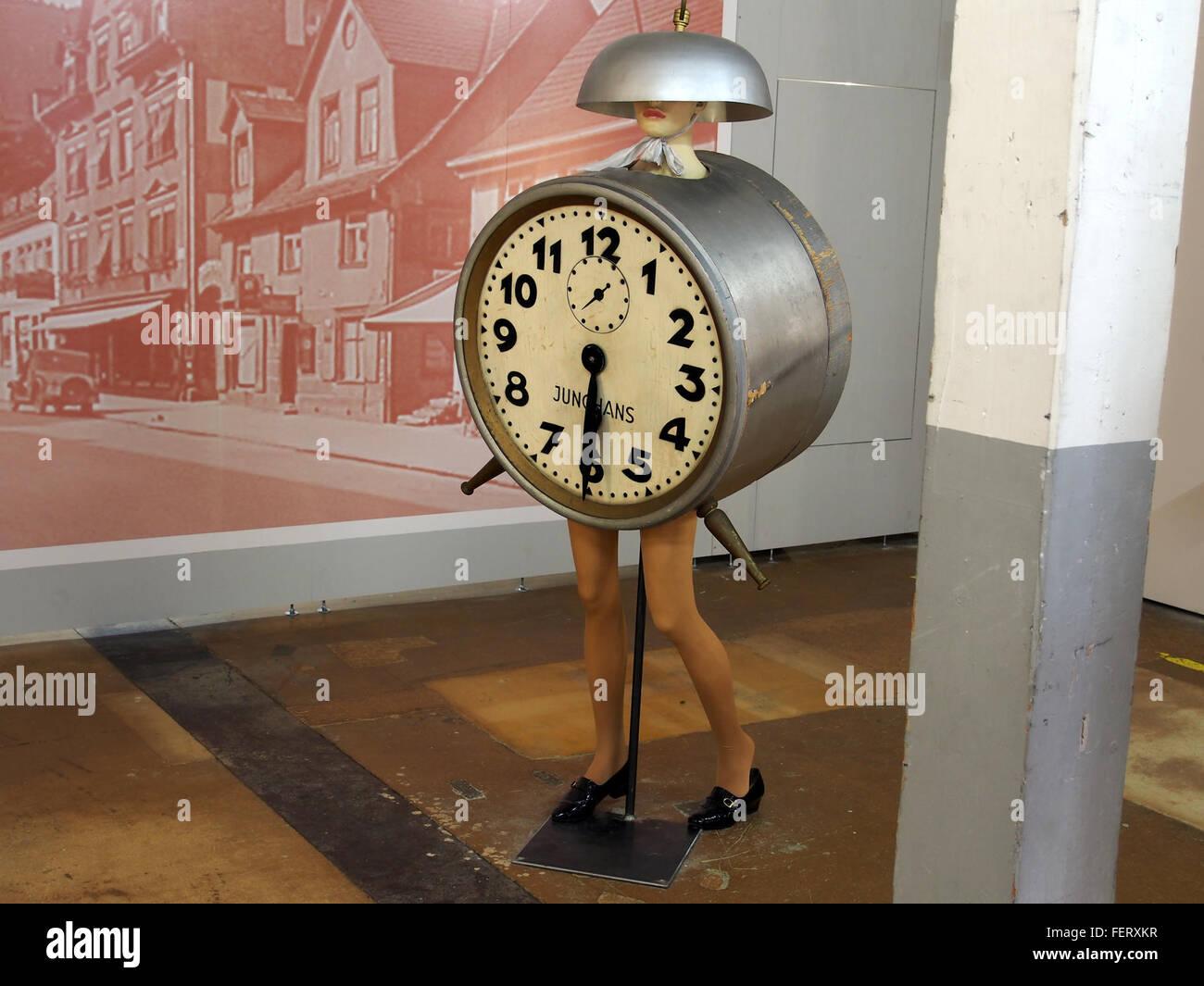 Auto & Uhrenwelt Schramberg, werbung - Stock Image
