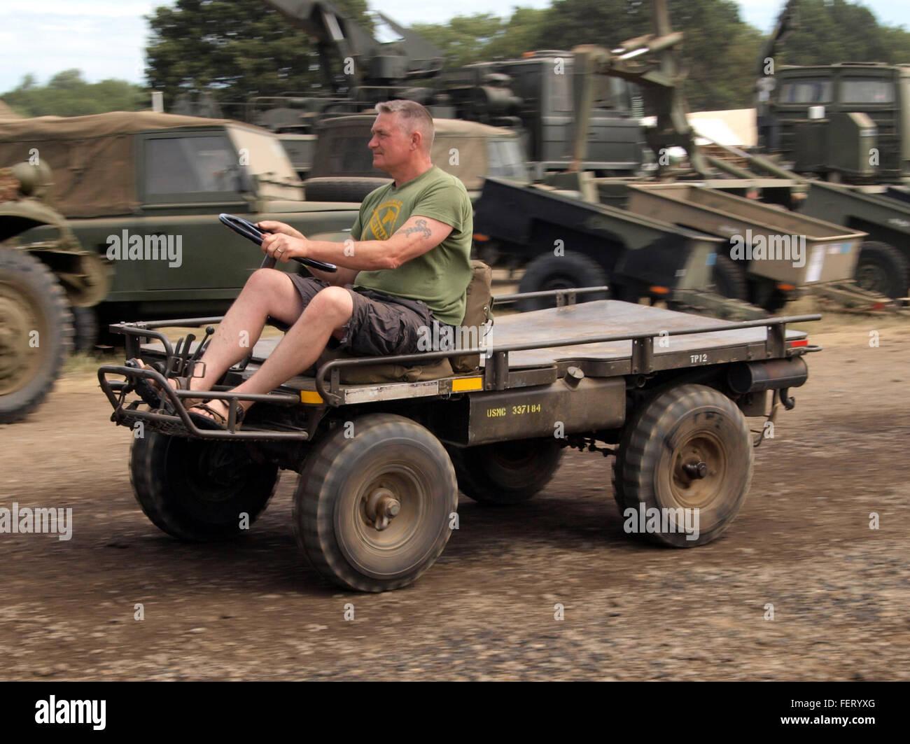 G-400 4x4 M274-A5 Mule USMC 337184 Mechanical Mule pic1 - Stock Image