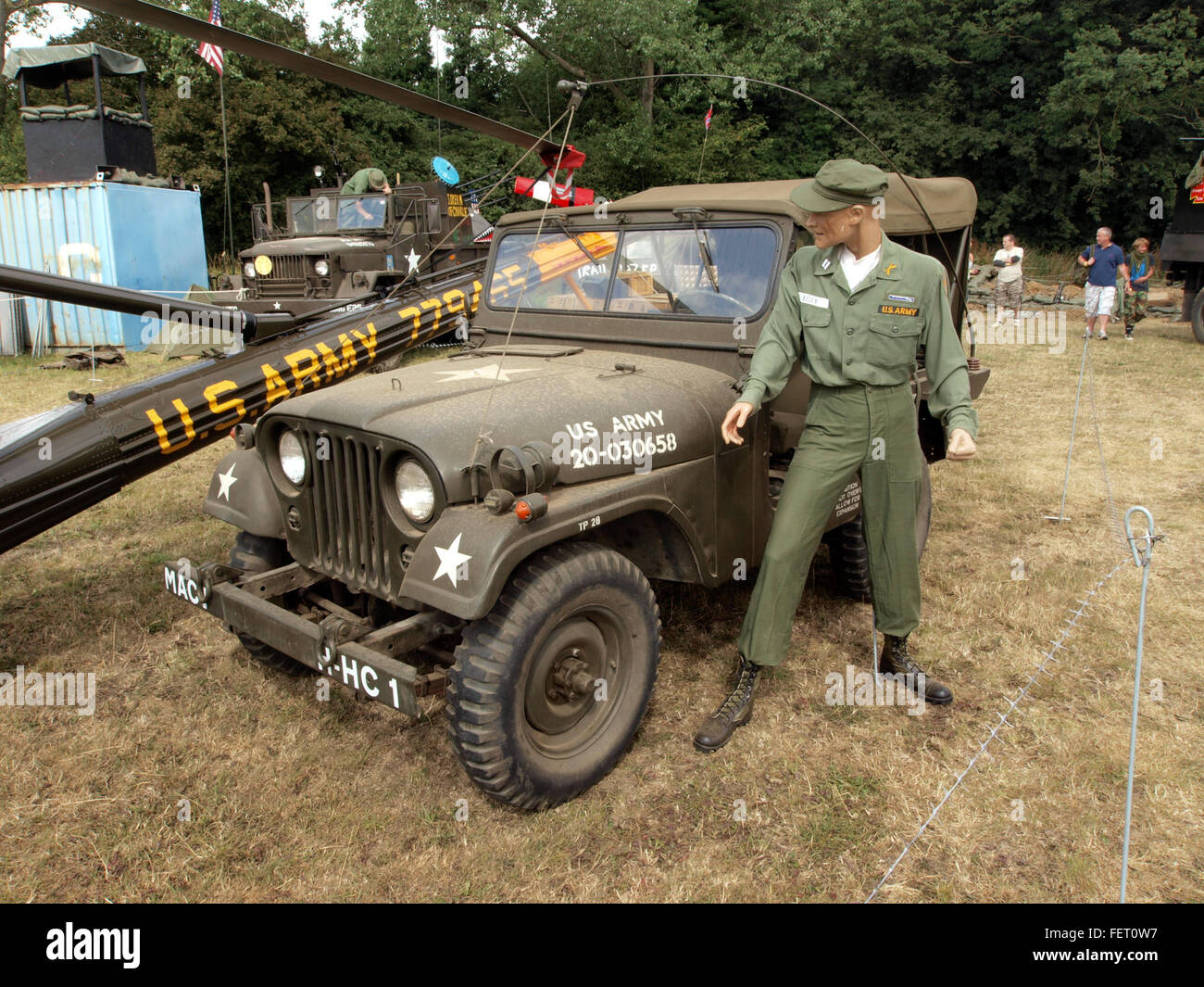 Willys US Army 20-030658 - Stock Image