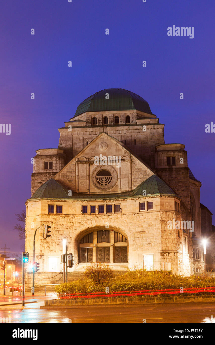 Old Synagogue in Essen - Stock Image