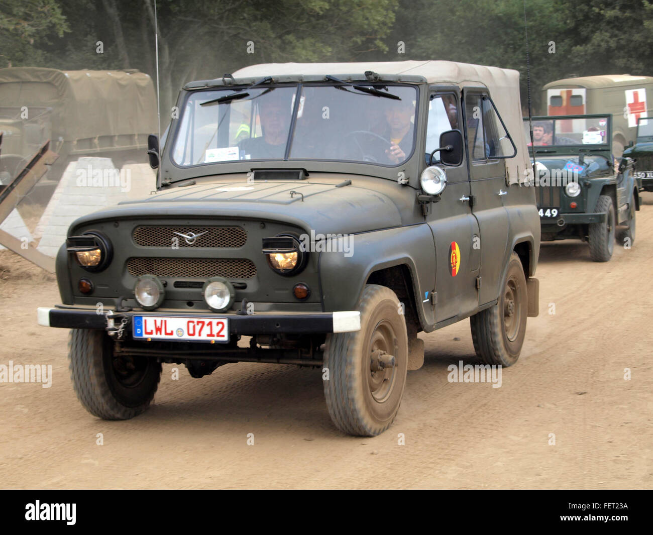 UAZ 469 East German army pic1