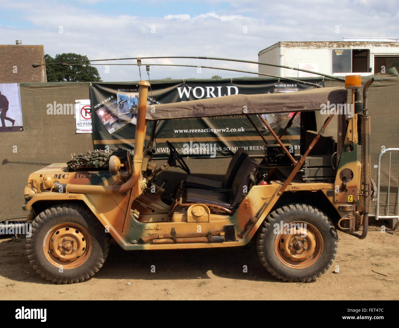 Ford M 151 A2 (1971) at War & Peace Show Stock Photo