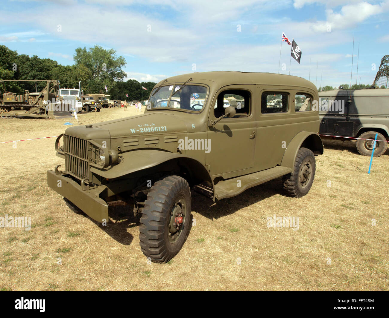 Dodge WC 53 Carryall W-20166121 S pic1 - Stock Image