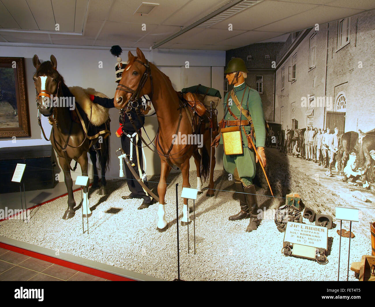 Dutch Cavalry Museum, Bernhardkazerne pic1 Stock Photo