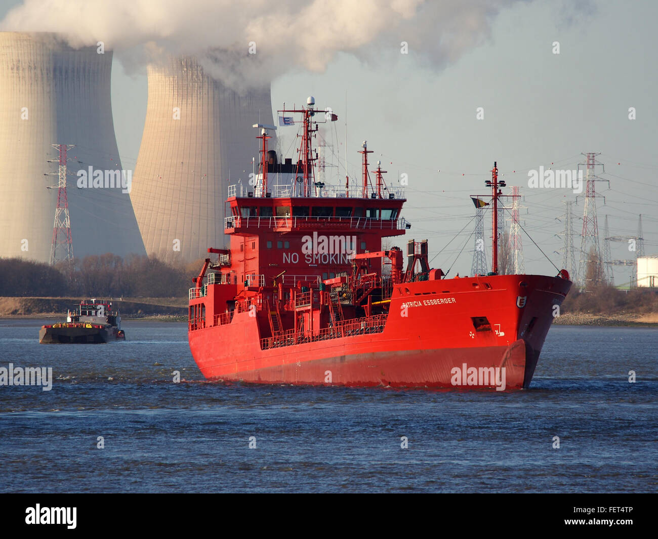 Patricia Essberger (ship, 2000) IMO 9212486 Schelde, Port of Antwerp pic1 - Stock Image