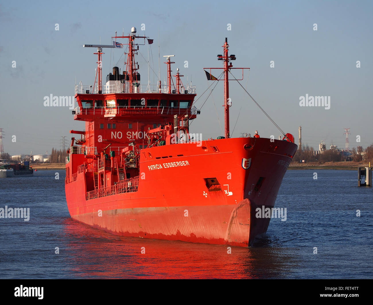 Patricia Essberger (ship, 2000) IMO 9212486 Schelde, Port of Antwerp pic2 - Stock Image
