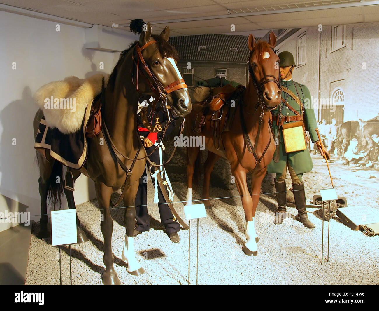 Dutch Cavalry Museum, Bernhardkazerne pic3 - Stock Image