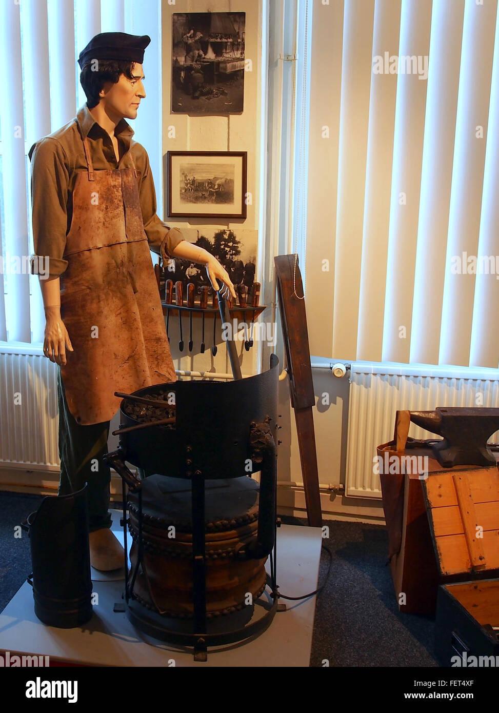 Dutch Cavalry Museum, Bernhardkazerne pic10 - Stock Image