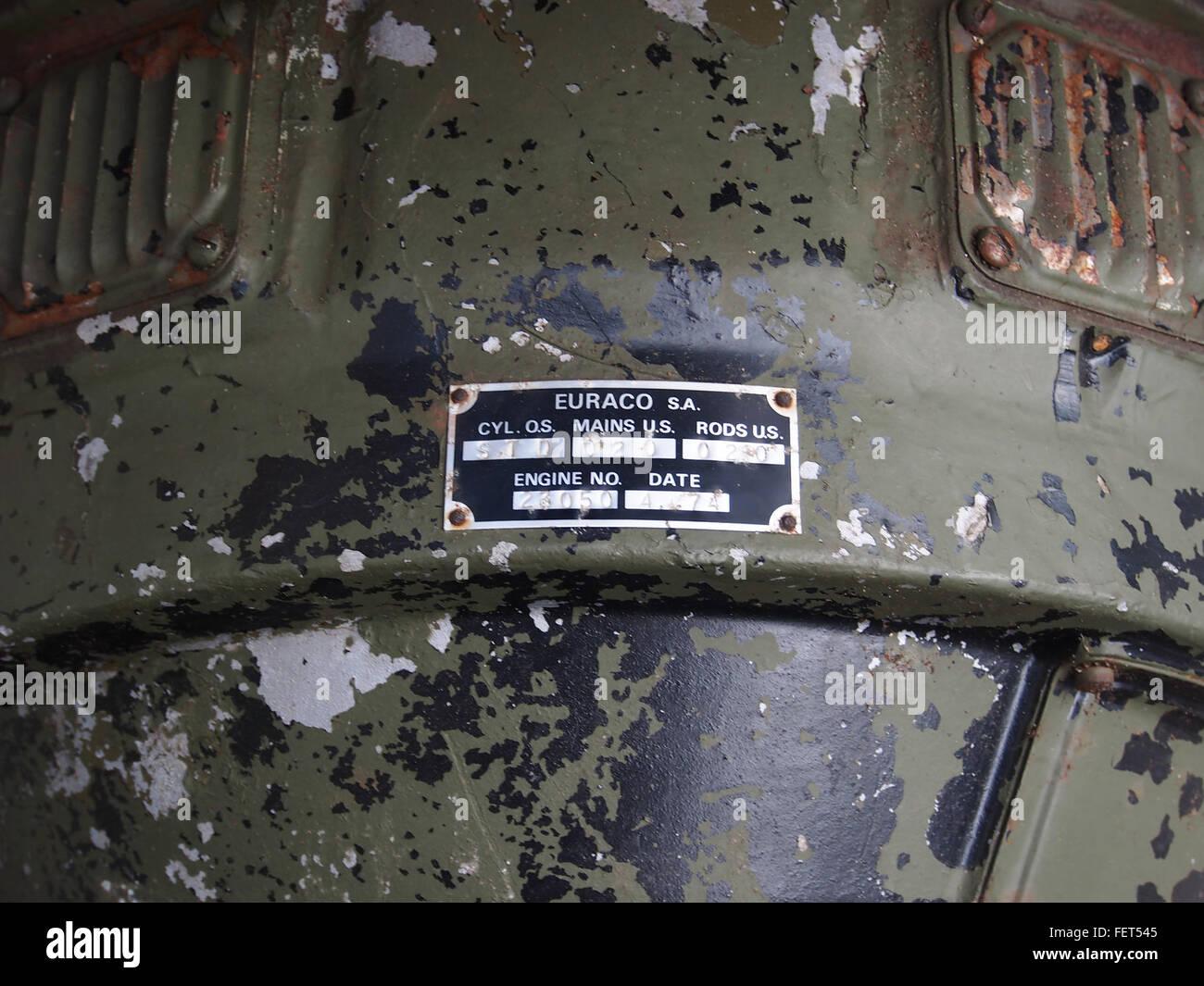 Ford (Euraco sa) M4 tank engine pic2 - Stock Image