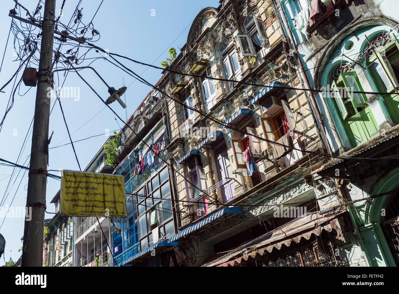 Cable Wires House Stock Photos Images Alamy How To Wire A For Electric Cables In Rangoon Image