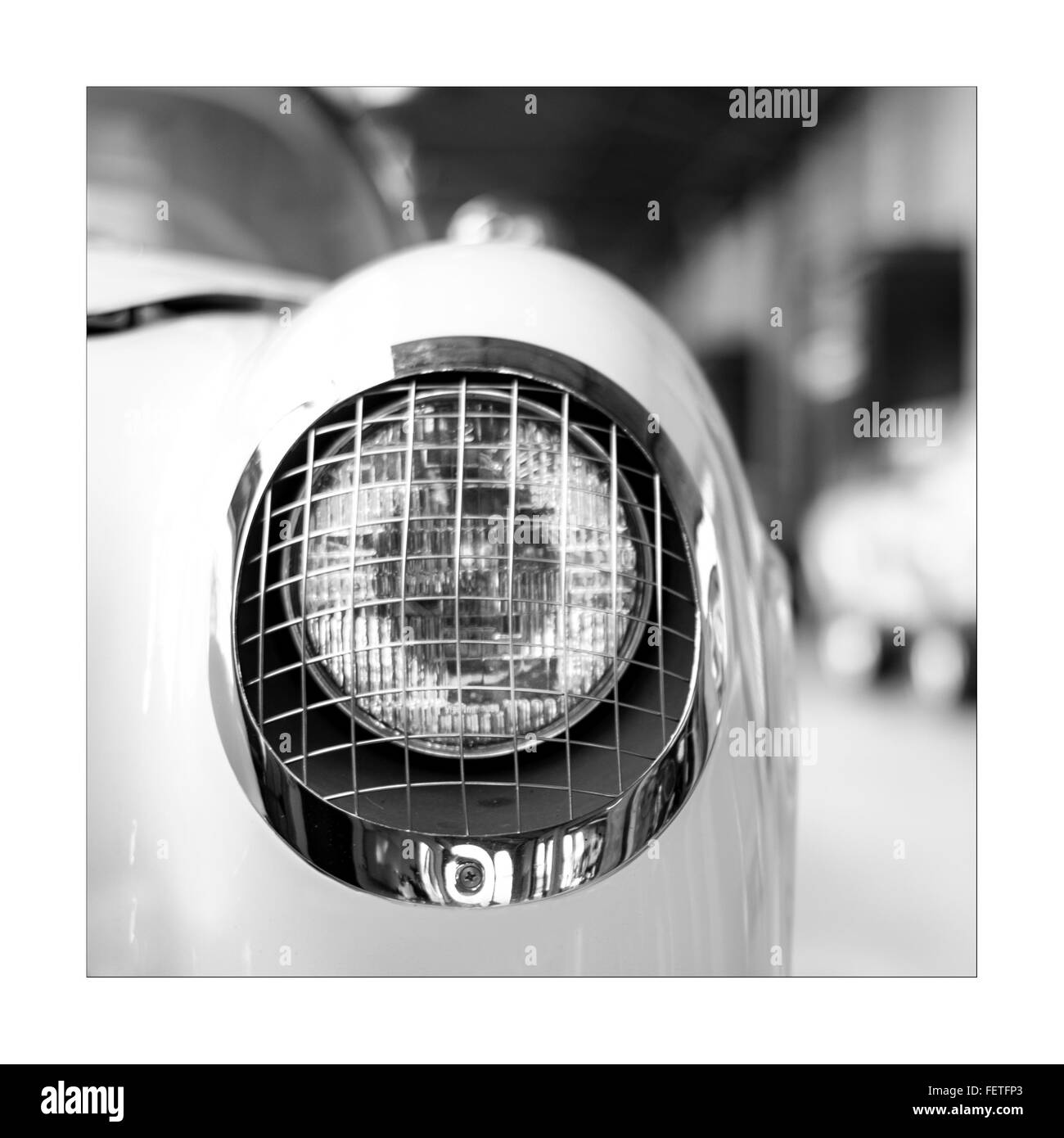 Car Headlight Cut Out Stock Images Pictures Alamy