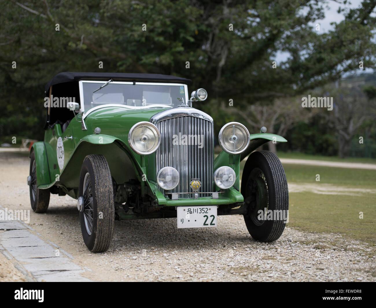 BENTLEY 3.5L 1935 - Stock Image