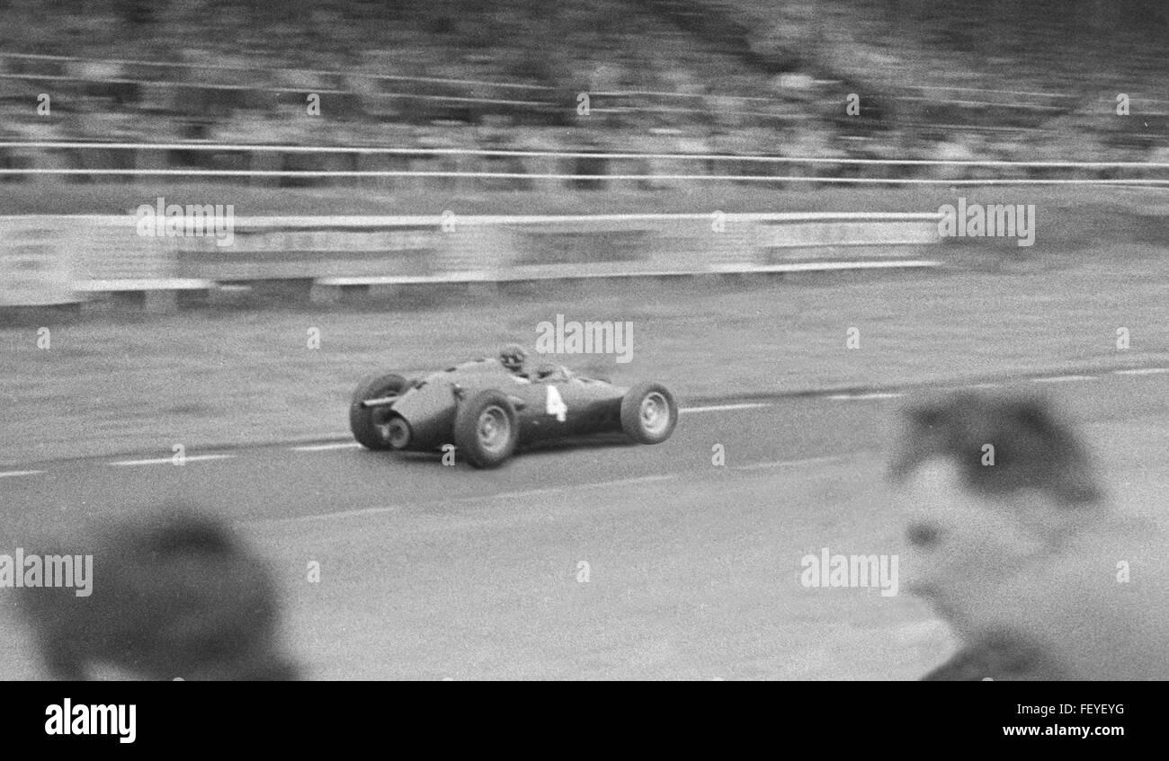 AA 5644. Silverstone, Buckinghamshire, British Grand Prix 1960, England - Stock Image