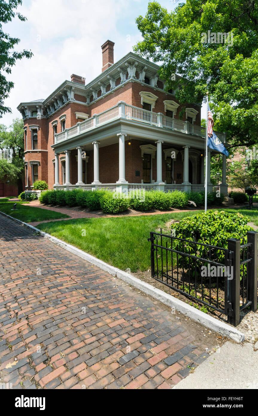 Benjamin Harrison Home, Old Northside Historic District ...  Benjamin Harrison House