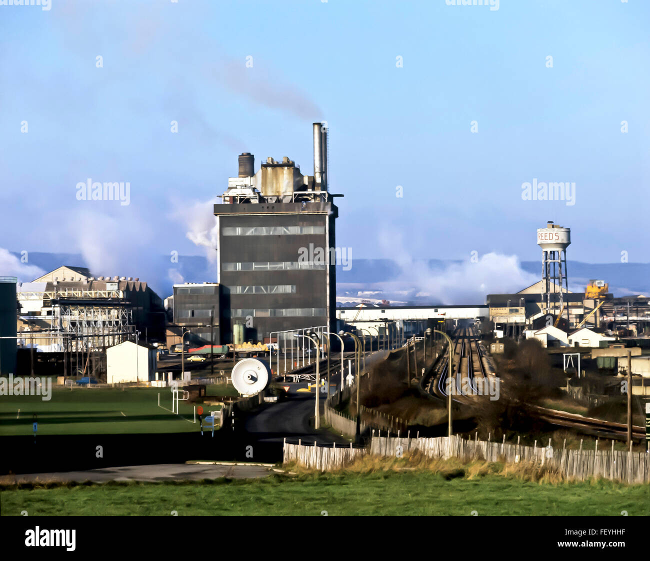 AA 6878. Archival 1970s, Aylesford Paper Mill, Maidstone, Kent - Stock Image