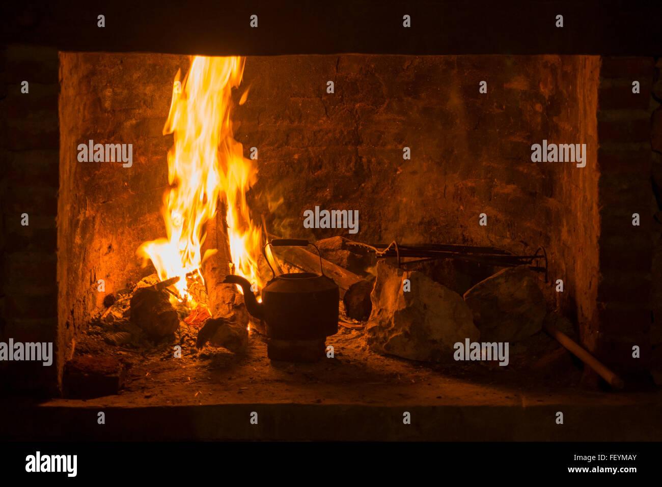 Wood Burning Stove Cabin Stock Photos Amp Wood Burning Stove