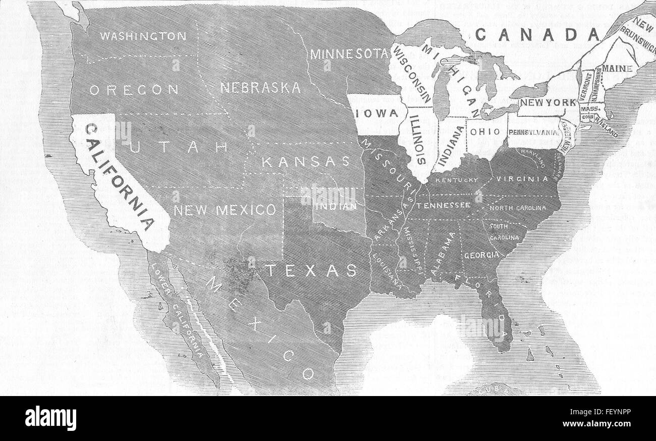 Slave And Free States Stock Photos & Slave And Free States Stock ...