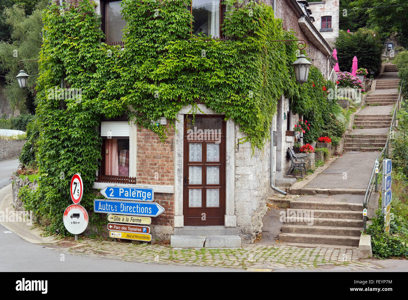 Dubuy in the Ardennes - Stock Image