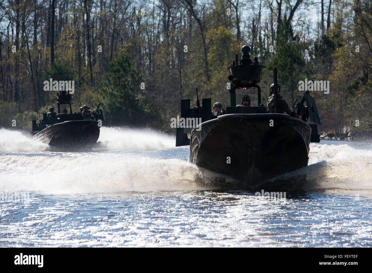 160108-N-AT895-1144 STENNIS SPACE CENTER, Miss. (Jan. 8, 2016) Special warfare combatant-craft crewmen (SWCC) from Stock Photo