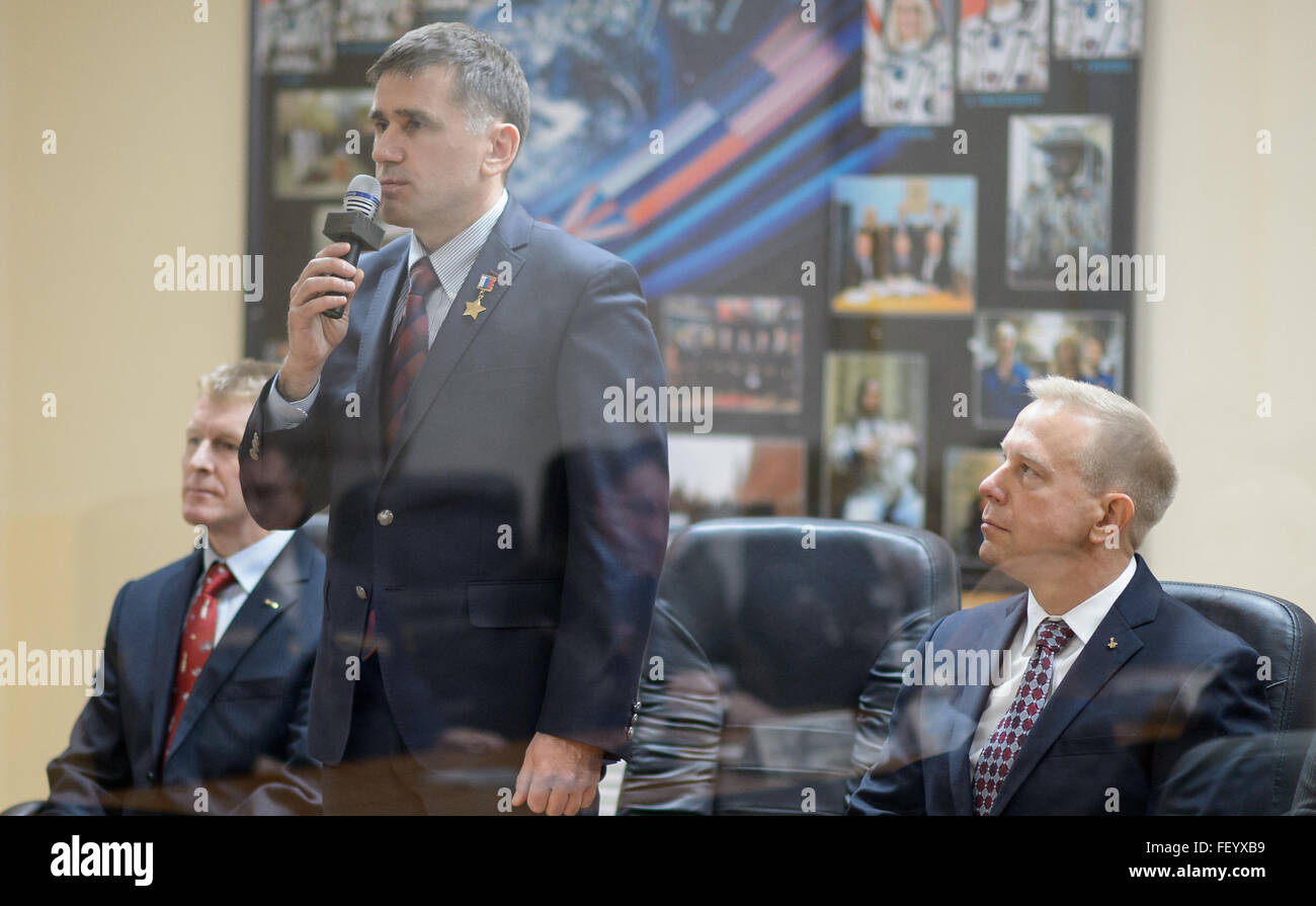 Expedition 46 State Commission 2 - Stock Image