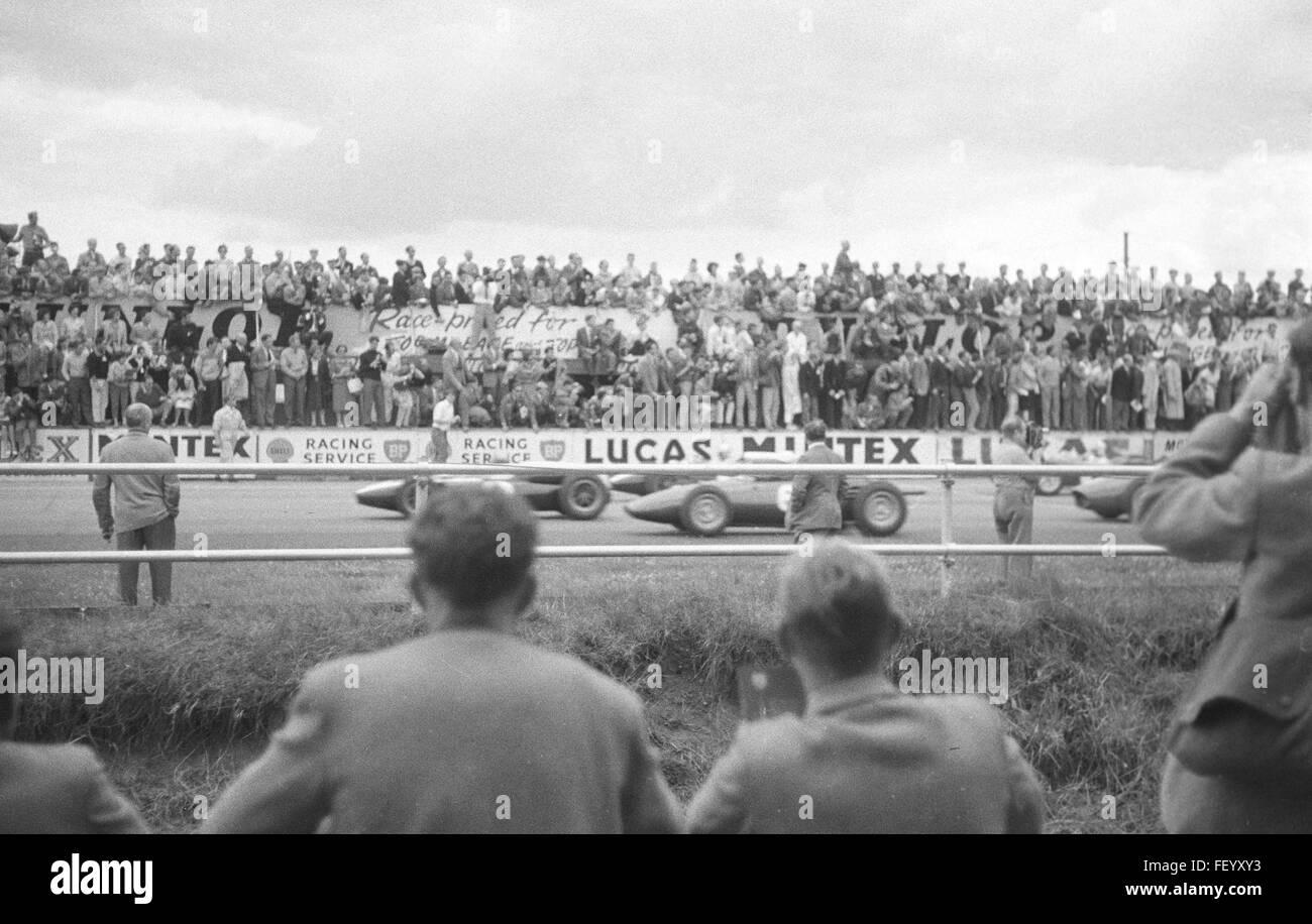AA 5646. Silverstone, Buckinghamshire, British Grand Prix 1960, England - Stock Image