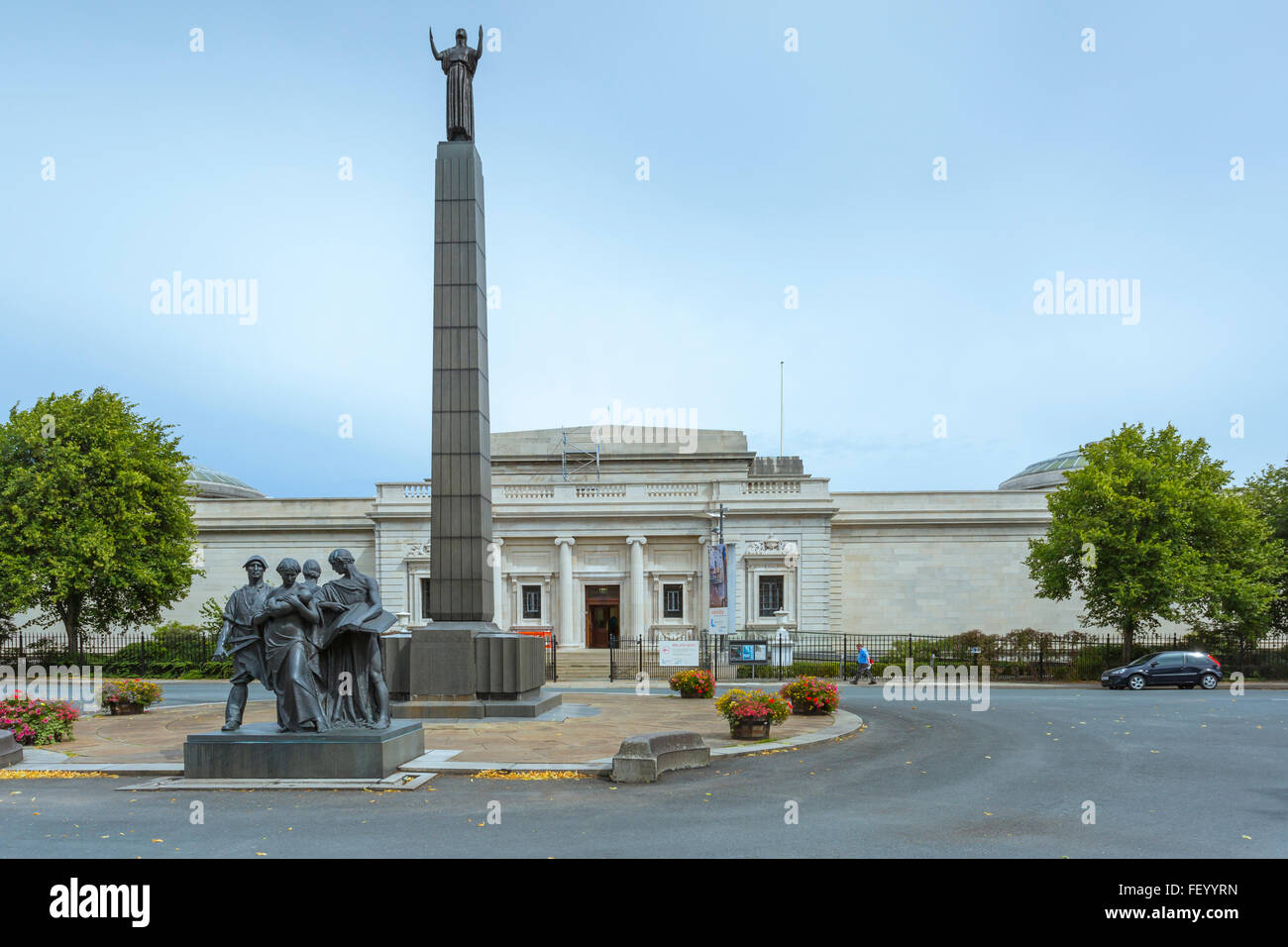 The Lady Lever Art Gallery at Port Sunlight. - Stock Image