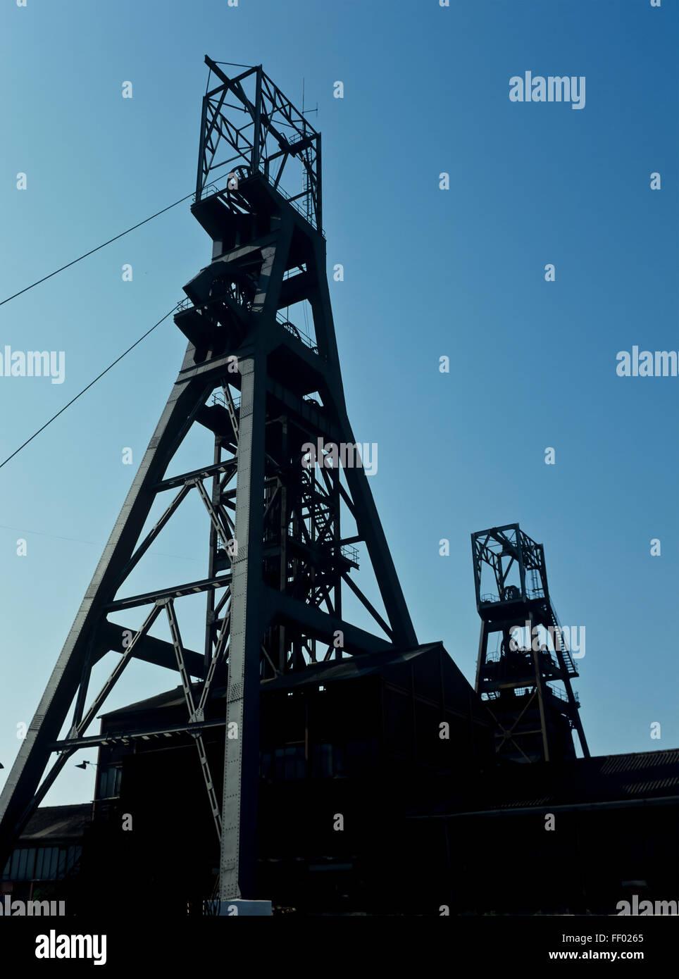 AA 7346. Archival 1970s, Tilmanstone Colliery, Kent, England - Stock Image