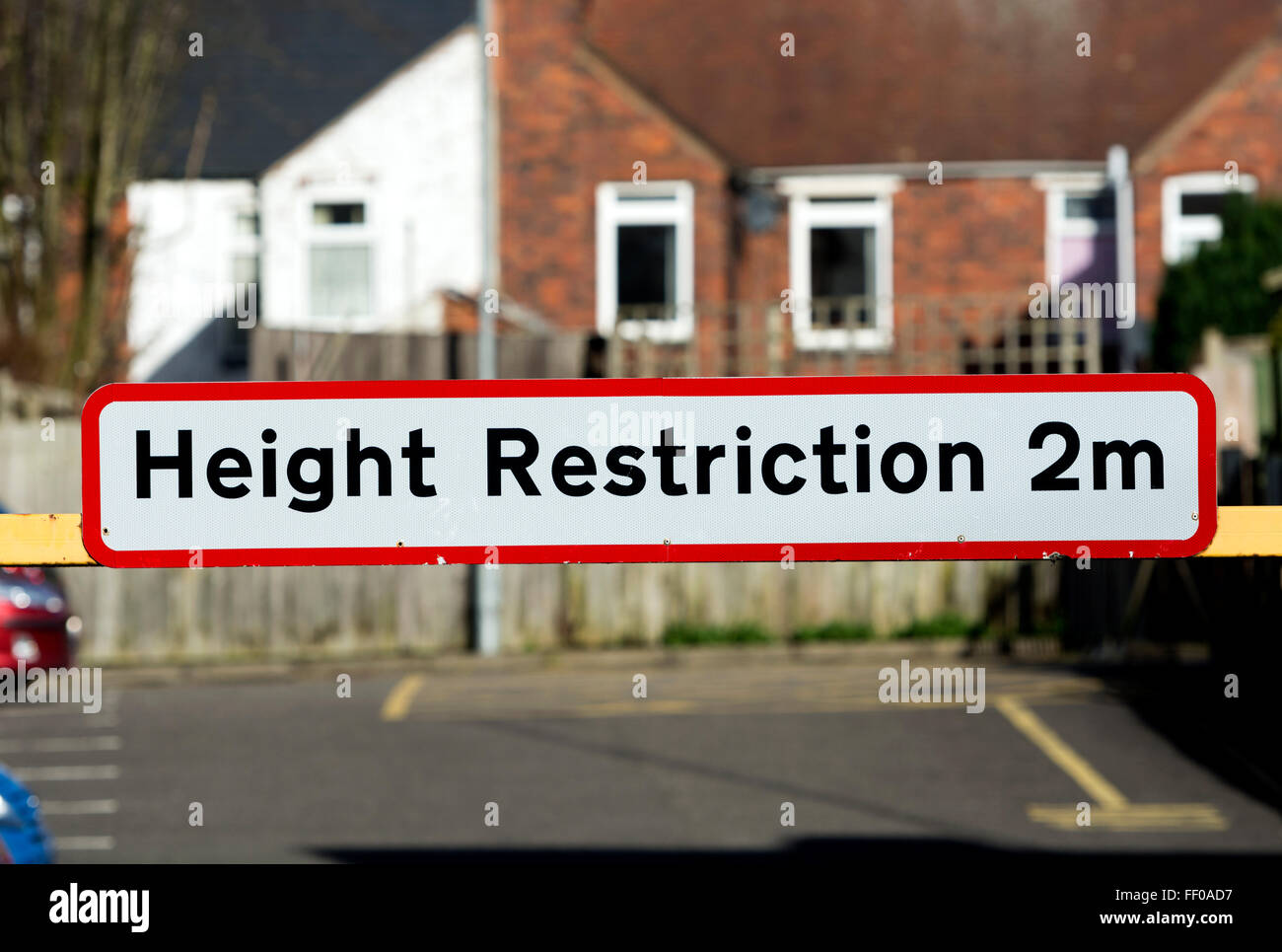 Car Park Height Restriction Sign High Resolution Stock Photography And Images Alamy