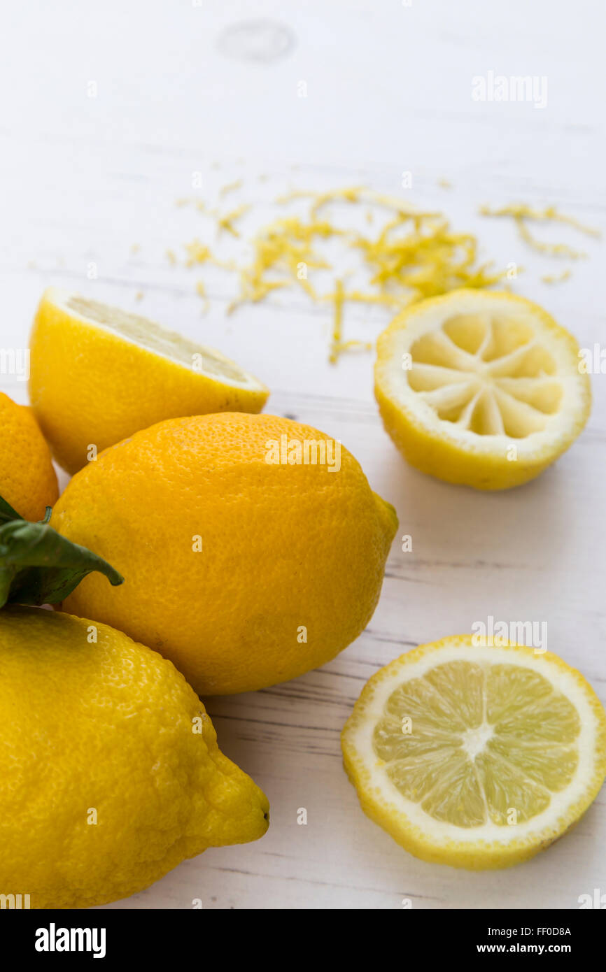 Slices of Lemon - Stock Image