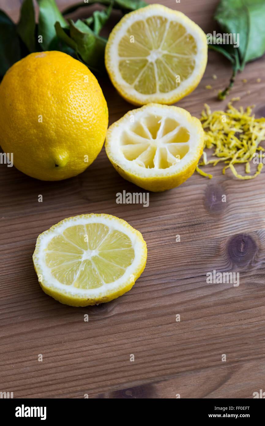 Lemon Slices - Stock Image