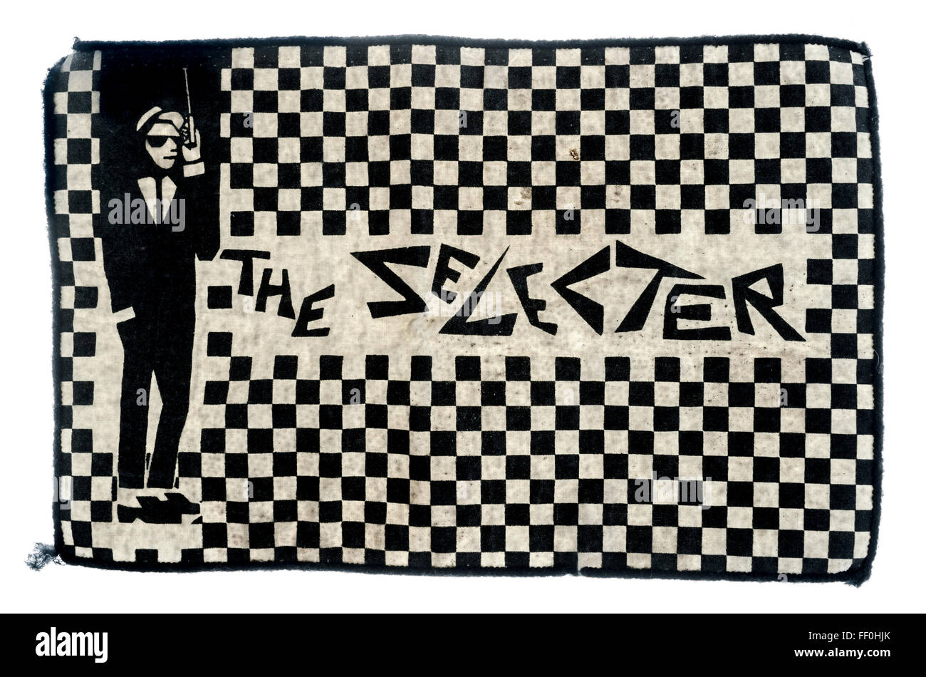 The Selecter, sew on patch - Stock Image