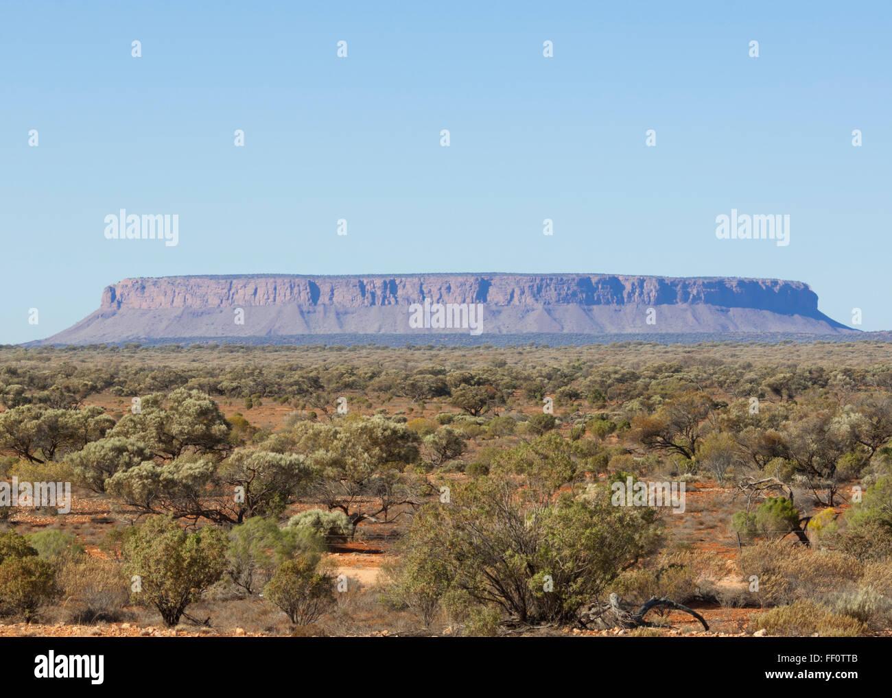 Mount Conner, Northern Territory, Australia - Stock Image