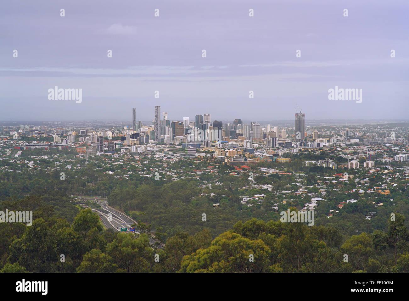 Brisbane Cityscape - Stock Image