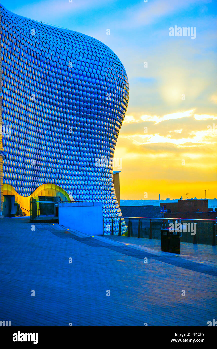Selfridge's Store exterior, Bullring Shopping Center, Birmingham - Stock Image