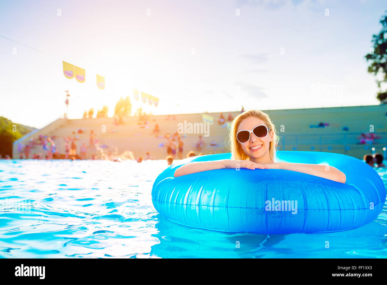 Inflatable Bathing Ring Stock Photos & Inflatable Bathing Ring Stock ...